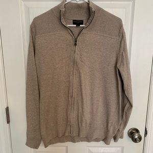 Banana Republic Zip Up Sweater